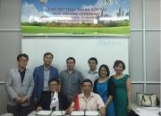 Lễ ký kết hợp tác nghiên cứu khoa học, chuyển giao công nghệ và đào tạo giữa Viện Khoa học và Kỹ thuật Môi trường (IESE) với Hàn Quốc và Canada